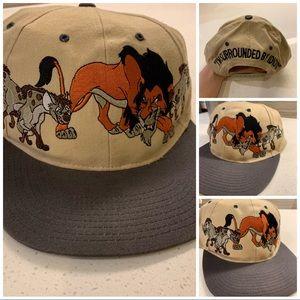 Vintage Disney Lion King Hat